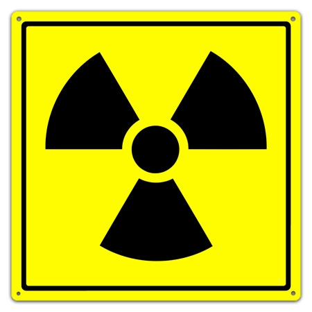 radioactive waste sign